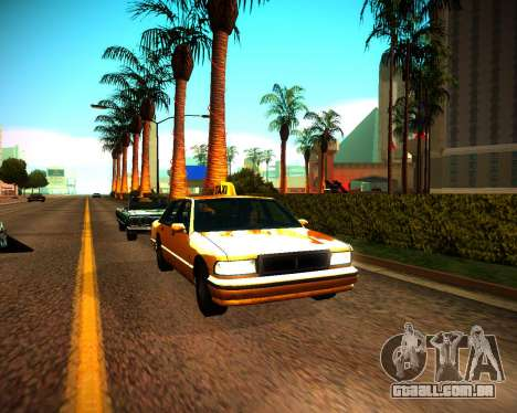 ENB GreenSeries para GTA San Andreas terceira tela