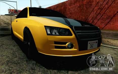 GTA 5 Karin Kuruma v2 IVF para GTA San Andreas