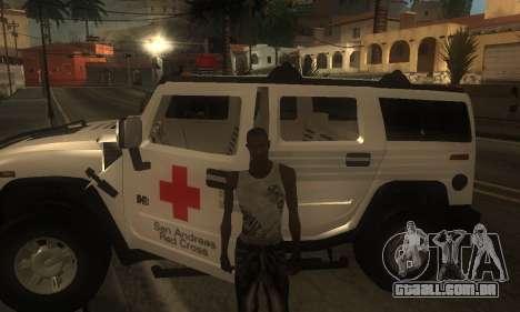ENB por meio do PC para GTA San Andreas sétima tela