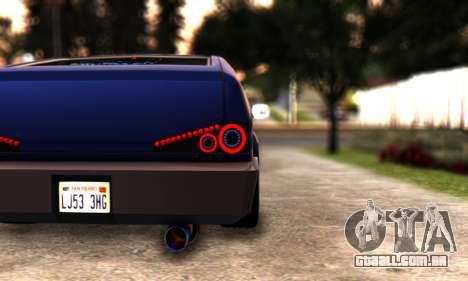 Blista Compact By VeroneProd para GTA San Andreas vista direita