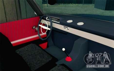 VAZ 21011 Hobo para GTA San Andreas vista direita