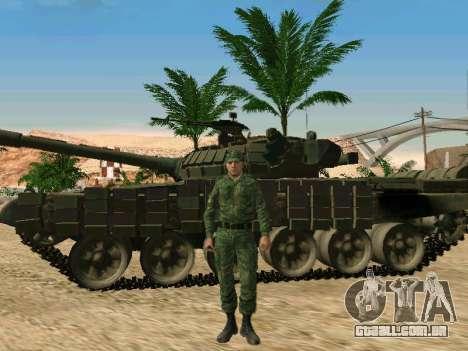 O militar russo está em uma nova forma para GTA San Andreas oitavo tela