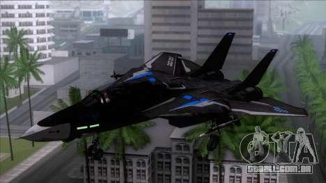 F-14 Neon Blue Macross Frontier para GTA San Andreas
