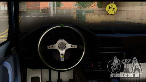 BMW M5 E28 para GTA San Andreas vista interior