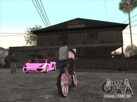 Personal car na Grove Street CJ para GTA San Andreas