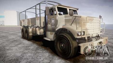 GTA 5 Barracks v2 para GTA 4 vista inferior
