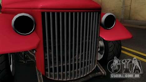 GTA 5 Bravado Rat-Truck IVF para GTA San Andreas vista direita