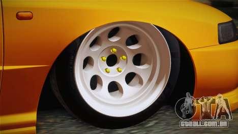 Honda Integra Type R 2000 para GTA San Andreas traseira esquerda vista