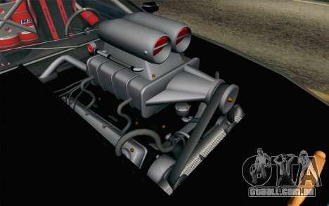 Elegy Modification para GTA San Andreas vista traseira