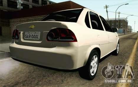 Chevrolet Classic para GTA San Andreas esquerda vista