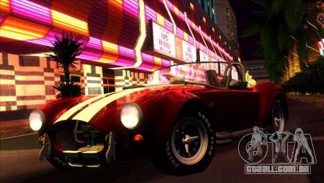 ENBSeries para PC fraco v5 para GTA San Andreas por diante tela