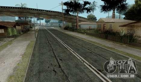 HQ Roads by Marty McFly para GTA San Andreas quinto tela