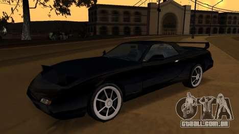 Beta ZR-350 Final para vista lateral GTA San Andreas