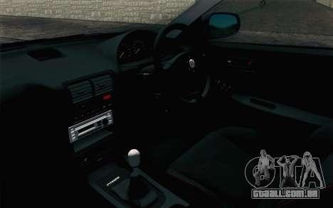 Honda Integra Type R 2000 Stock para GTA San Andreas vista direita