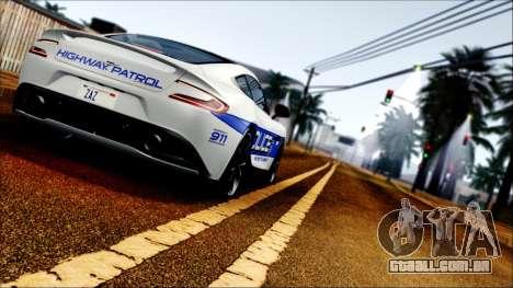 Flash ENB v2 para GTA San Andreas por diante tela