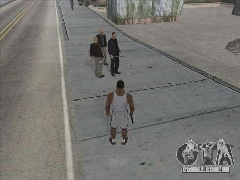 Os Russos, no distrito Comercial para GTA San Andreas sétima tela