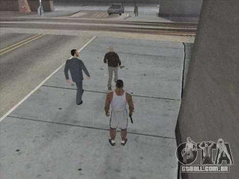 Os Russos, no distrito Comercial para GTA San Andreas oitavo tela