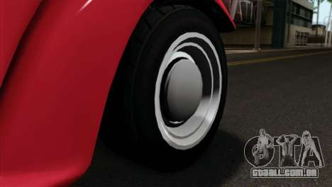 GTA 5 Bravado Rat-Truck IVF para GTA San Andreas traseira esquerda vista
