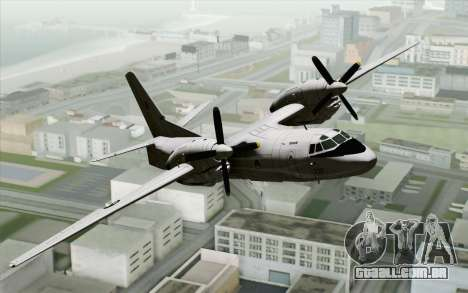 AN-32B Croatian Air Force Closed para GTA San Andreas