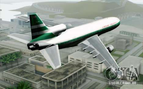 Lookheed L-1011 Cathay P para GTA San Andreas esquerda vista