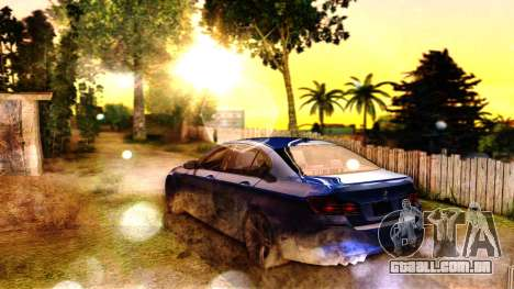 ENB for SA:MP v5 para GTA San Andreas por diante tela