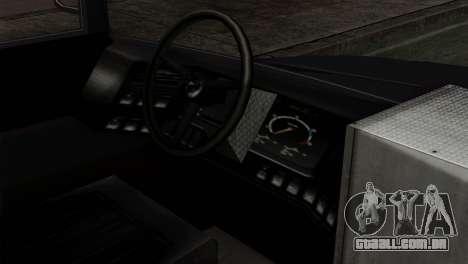 GTA 4 TLaD Prison Bus para GTA San Andreas vista direita
