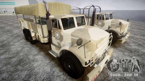 GTA 5 Barracks v2 para GTA 4 esquerda vista