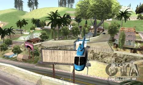 BeautifulDark ENB para GTA San Andreas sexta tela