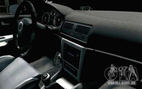 Volkswagen Golf Mk4 2002 Street Daily para GTA San Andreas vista direita