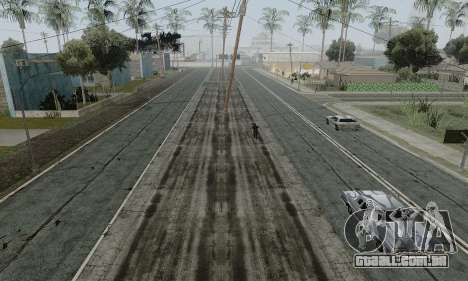 HQ Roads by Marty McFly para GTA San Andreas por diante tela