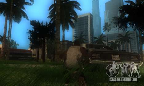 ENB por meio do PC para GTA San Andreas quinto tela