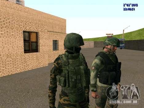Guerreiro batalhão Leste para GTA San Andreas por diante tela