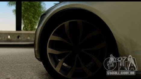 Audi A6 para GTA San Andreas vista traseira