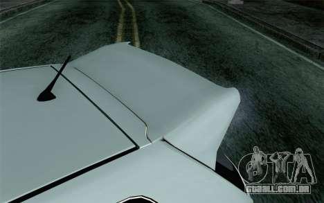 Honda Civic Type R para GTA San Andreas vista traseira