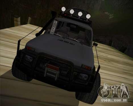 VAZ 2131 Niva 5D OffRoad para GTA San Andreas vista traseira