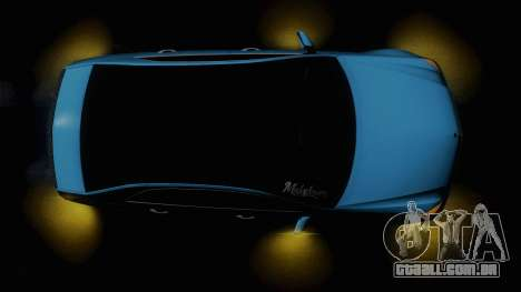 Mercedes-Benz E63 AMG 2010 Vossen wheels para GTA San Andreas vista superior