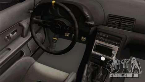 Nissan Skyline R32 Drift JDM para GTA San Andreas vista direita