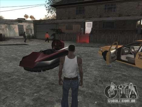 Personal car na Grove Street CJ para GTA San Andreas terceira tela