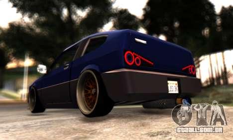 Blista Compact By VeroneProd para GTA San Andreas vista traseira