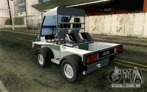 Dacia Logan MXP para GTA San Andreas esquerda vista