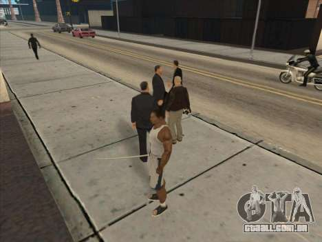 Os Russos, no distrito Comercial para GTA San Andreas twelth tela