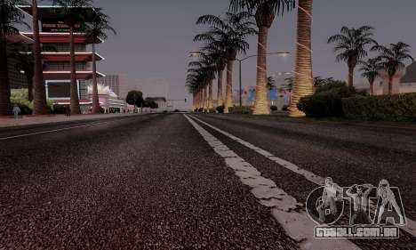 HQ Roads by Marty McFly para GTA San Andreas oitavo tela