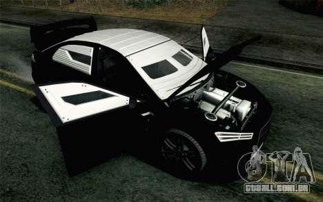 GTA 5 Karin Kuruma v2 Armored IVF para GTA San Andreas vista traseira