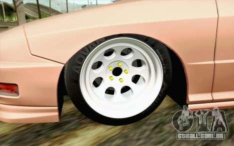 Acura Integra Type R 2001 JDM para GTA San Andreas traseira esquerda vista