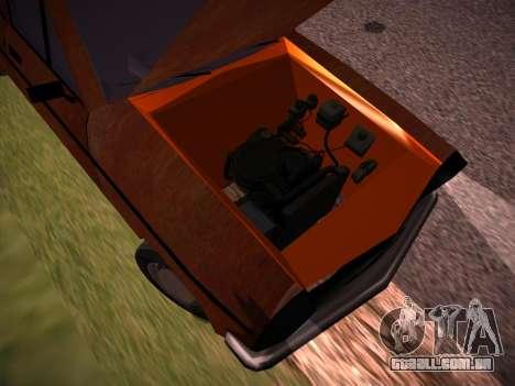 Rat Look Perennial para GTA San Andreas vista interior