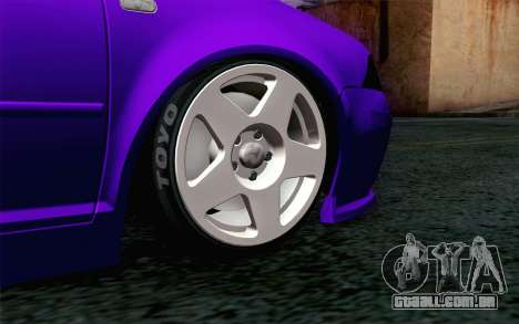 Volkswagen Jetta GLI 2010 TnTuning para GTA San Andreas traseira esquerda vista