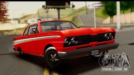GTA 5 Vapid Blade v2 para GTA San Andreas