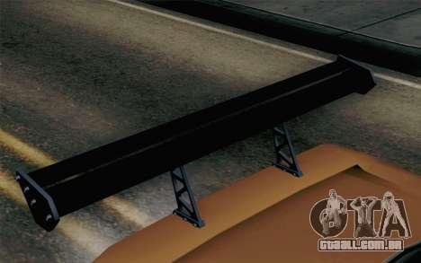 Infernus Edicte v2 para GTA San Andreas vista direita
