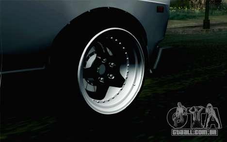 VAZ 2105 Drist-Obstáculo para GTA San Andreas traseira esquerda vista