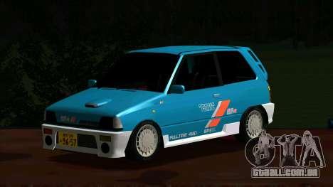 Suzuki Alto Works RS/R para GTA San Andreas esquerda vista